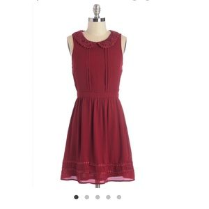 ModCloth Pan collared dress